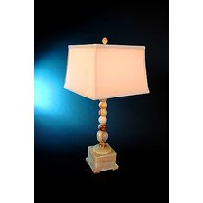 "Chartreuse 31"" H Box Base Piano Table Lamp"