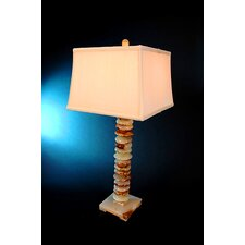 "Chartreuse 32"" H Piano Table Lamp with 3-Way Switch"
