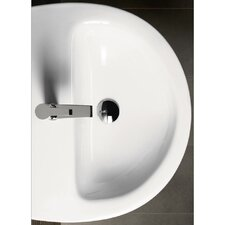 <strong>GSI Collection</strong> City Contemporary Curved Semi-Recessed Bathroom Sink