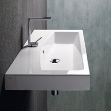 <strong>GSI Collection</strong> Losagna Stylish Rectangular Ceramic Bathroom Sink