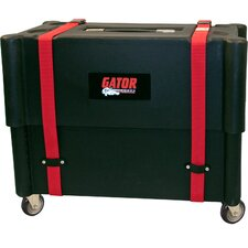 <strong>Gator Cases</strong> 1 x 12 Combo Amp Transporter / Stand Case with Molded Plastic