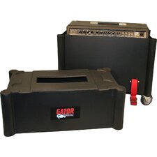2 x 12 Combo Amp Transporter / Stand Case with Molded Plastic