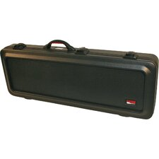 <strong>Gator Cases</strong> ATA Molded Mil-Grade PE Electric Guitar Case with TSA Latches