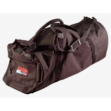 "Hardware Drum Bag with Wheels: 16.5"" H x 41.75"" W x 14"" D"