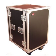 "<strong>Gator Cases</strong> Tour Wood Flight 24"" Deep Audio Road Rack Case with Casters"
