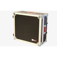"Mixer Wood Flight Road Case: 5.5"" H x 36"" W x 24"" D"