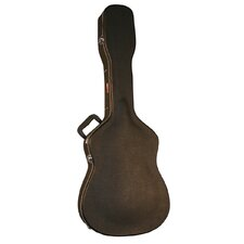 <strong>Gator Cases</strong> 12 String Dreadnought Economy Wood Guitar Case in Black