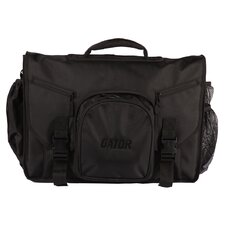 Messenger Style Bag for DJ Midi Controllers in Black