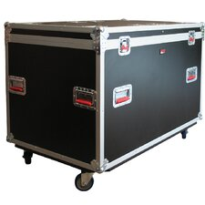 Tour Style Case for 8 LED Par 64 Light Fixtures