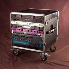 "Rack Base with Casters: 27"" H x 25"" W x 21 1/2"" D"