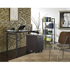 3 Piece Home Office Collection Writing Desk