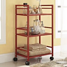 "Marshall 29.92"" 3-Shelf Rolling Utility Cart"