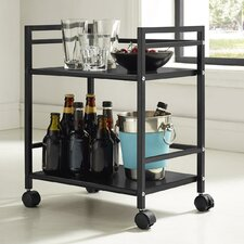 "Marshall 20.47"" 2-Shelf Rolling Utility Cart"