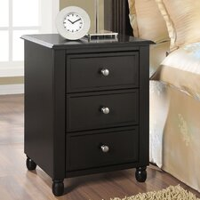 Winslow 3 Drawer End Table