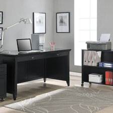 Amelia Desk with Mobile Storage Cube and File