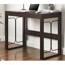 <strong>Altra Furniture</strong> Parsons Desk With Drawer and Metal Accent