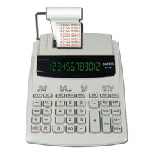12 Digit AC Two Color Printing Calculator