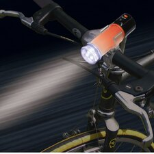 LED Waterproof Light and Beacon Flare with Magnetic Base and Bike Mount