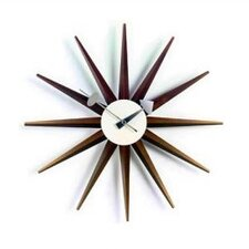 "<strong>Vitra</strong> Vitra Design Museum 18.5"" Sunburst Wall Clock"