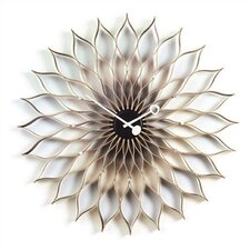 "Vitra Design Museum Oversized 29.5"" Sunflower Wall Clock"