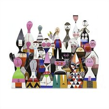 <strong>Vitra</strong> Wooden Dolls Set by Alexander Girard