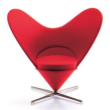 Miniatures Heart Shaped Cone Chair Figurine