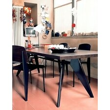 <strong>Vitra</strong> EM 5 Piece Standard Chair Dining Set by Jean Prouvé