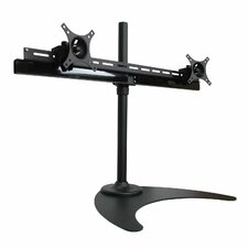 Duplex Series Dual TV / Monitor Desk Mount Stand