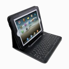 <strong>Dyconn</strong> Pad Folio iPad/Bluetooth Keyboard Case with Detachable Sleeve