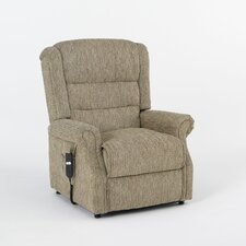 Johnson and Holland Recliner Chair with Side Pocket in Alpine Mocca