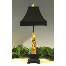 Ancient Man Resin 1 Light Table Lamp