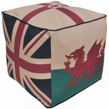 Great Britain Patriotic Pouffe
