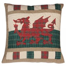 Wales Flag Patriotic Cushion
