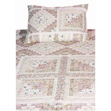 Stam and Cabin Calico Pastels Quilt