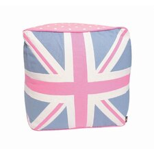 Union Jack Pink Duck Pouffe