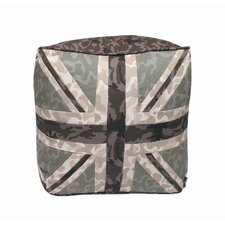 Union Jack Tribute Pouffe