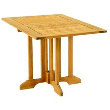 <strong>Les Jardins</strong> Teak Gate Rectangular Leg Table