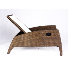 Out of Blue Kahuna Multi-Position Lounge Chair in Brown