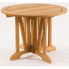 Teak Gate Round Leg Table