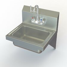 NSF Eye Wash Stainless Steel Hand Sink
