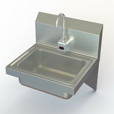 "NSF 17"" x 15"" Electronic Hand Sink with Faucet"