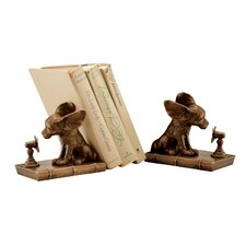 <strong>SPI Home</strong> Cool Dog Book Ends (Set of 2)