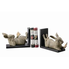 <strong>SPI Home</strong> Reading Rabbit Book Ends (Set of 2)
