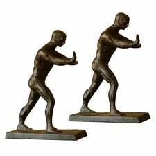 Working Men Book End (Set of 2)