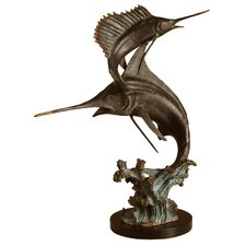 <strong>SPI Home</strong> Two Bills Marlin and Sailfish Figurine
