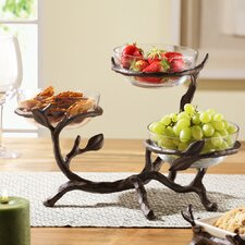 Twig Coll Glass Bowl Holder
