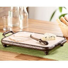 Twig Coll Cheeseboard with Knife