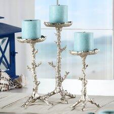 Coral Coll Pillar Candlestick