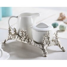 Coral Coll Sugar and Creamer Set