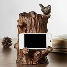 Little Bird Cell Phone Holder with Bluetooth Speaker